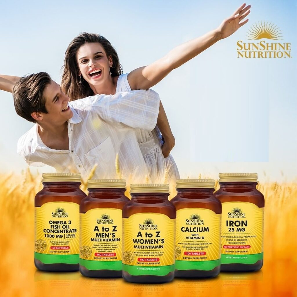 SUNSHINE NUTRITION VITAMINS & SUPPLEMENTS