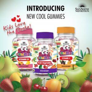 Sunshine Nutrition Cool Gummies for Kids